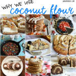 Coconut Flour + Why We Use It