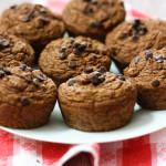 Pumpkin Chocolate-Chip Muffins
