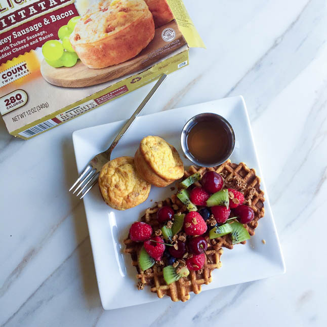 Easy, Wholesome Breakfast With Jimmy Dean | adoubledose.com