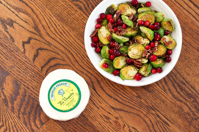 Holiday Roasted Brussels Sprouts | adoubledose.com