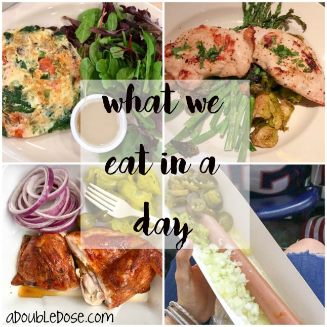 What We in a Day | adoubledose.com
