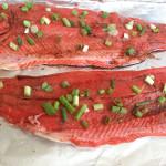 Balsamic Baked Copper River Salmon