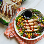 Southwestern Grilled Chicken Salad + Tuesday Tastes |9/29/15|