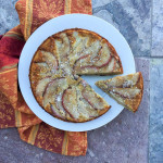 Spiced Upside-Down Pear Cake