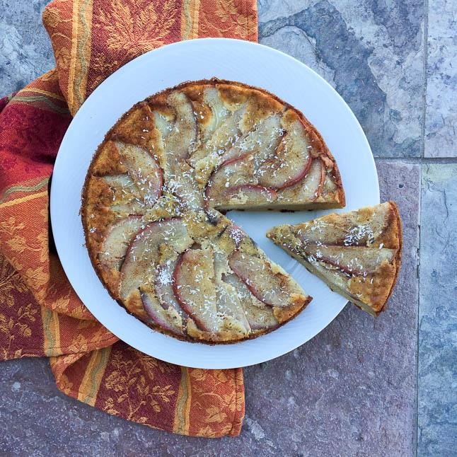 Pear Upside Down Cake Gluten Free