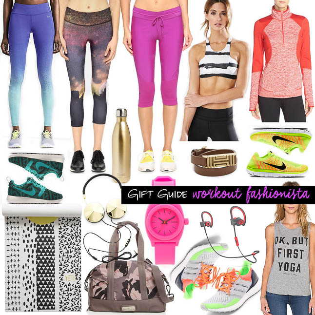 Workout Holiday Gift Guide - The perfect gift ideas for the workout fashionista in your life   adoubledose.com