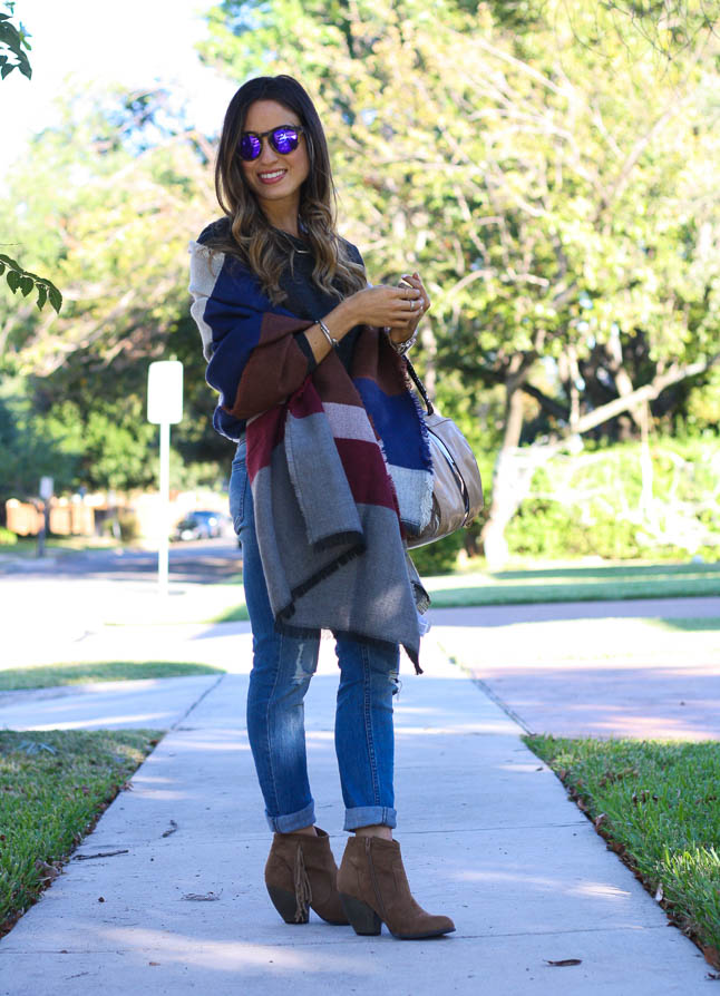 How To Style A Scarf For Fall