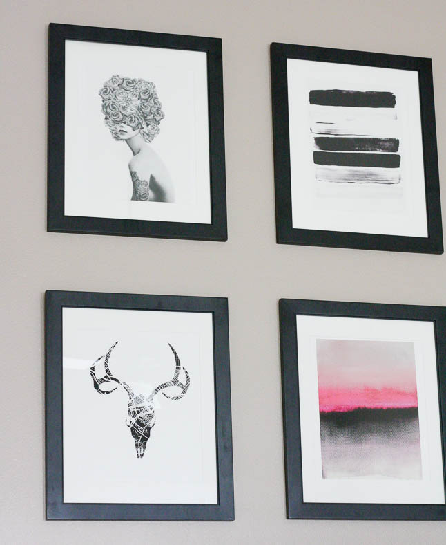 Getting Printed with Minted - sharing our new wall decor with Minted | adoubledose.com