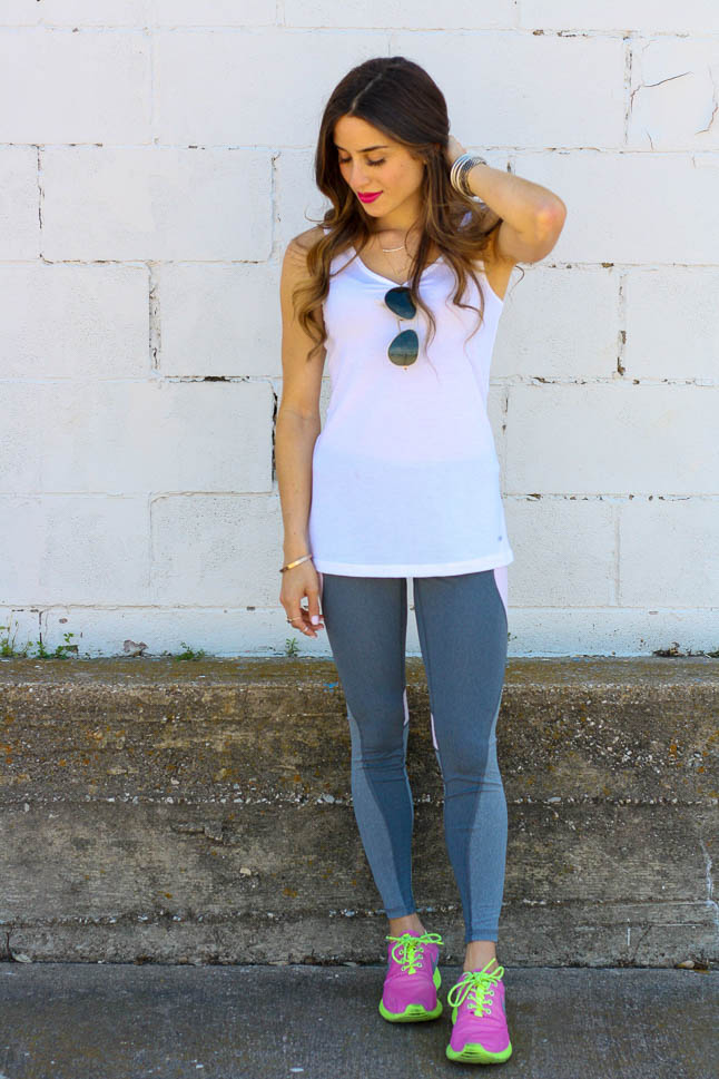 Workout Leggings with Style Squared Clothing | adoubledose.comvv