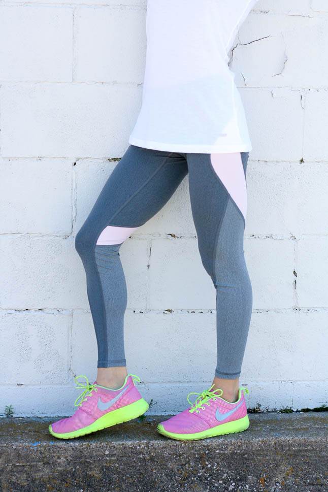 Workout Leggings with Style Squared Clothing | adoubledose.com