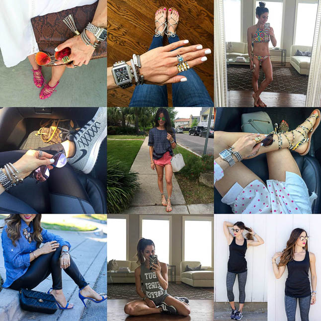 This Week On Adoubledose.com- a roundup of all of our recent outfits on instagram plus what was on the blog this week | adoubledose.com