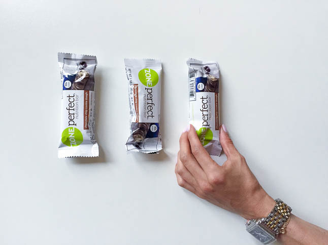 On The Go Snacking with ZonePerfect Nutrition Bars | adoubledose.com