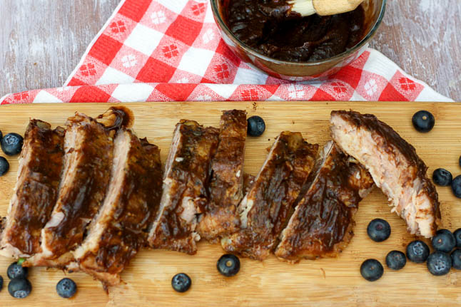 Summertime Cleanup with Viva featuring barbecue ribs | adoubledose.com