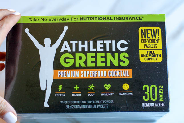 Athletic Greens- a premium superfood cocktail | adoubledose.com