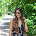 Ruffle Flowy Maxi Dress Under $20
