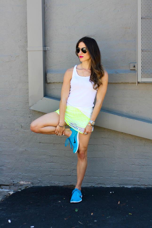 Green Tennis Skirt | adoubledose.com