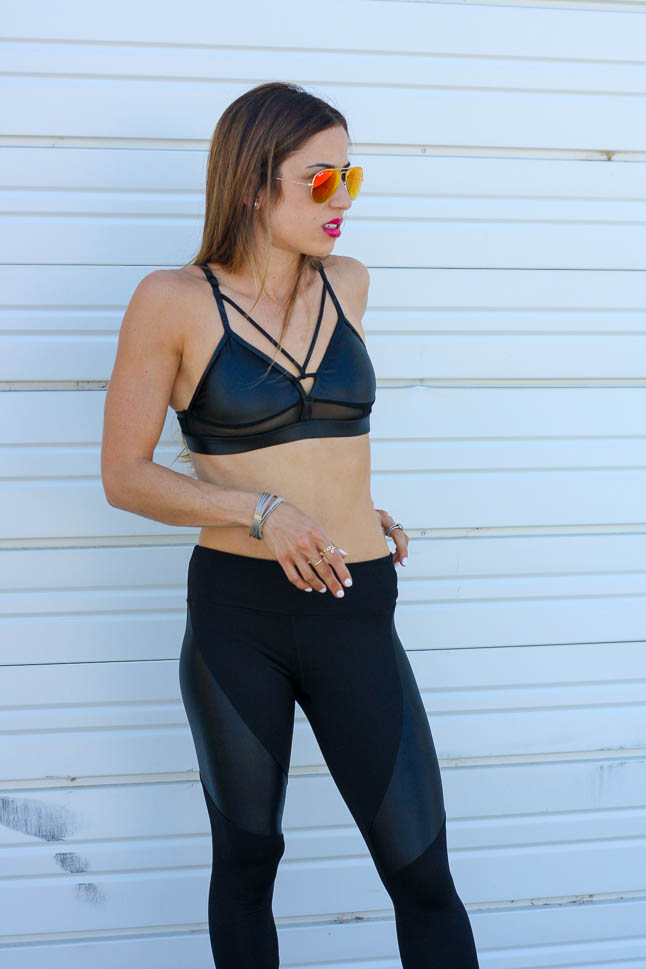 Liquid Athleisure Outfit with Koral | adoubledose.com