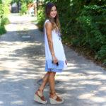 White Tassel Dress