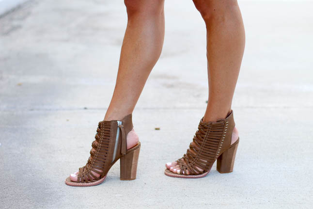 Olive Strappy Booties   adoubledose.com
