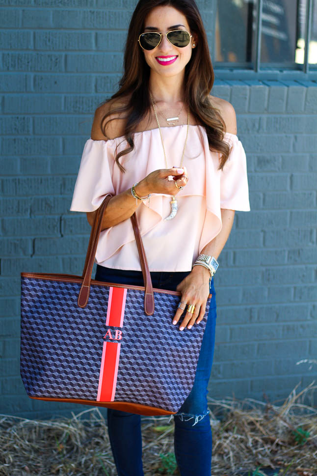 The Perfect Tote with Barrington Gifts | adoubledose.com