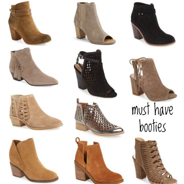 Must Have Booties | adoubledose.com