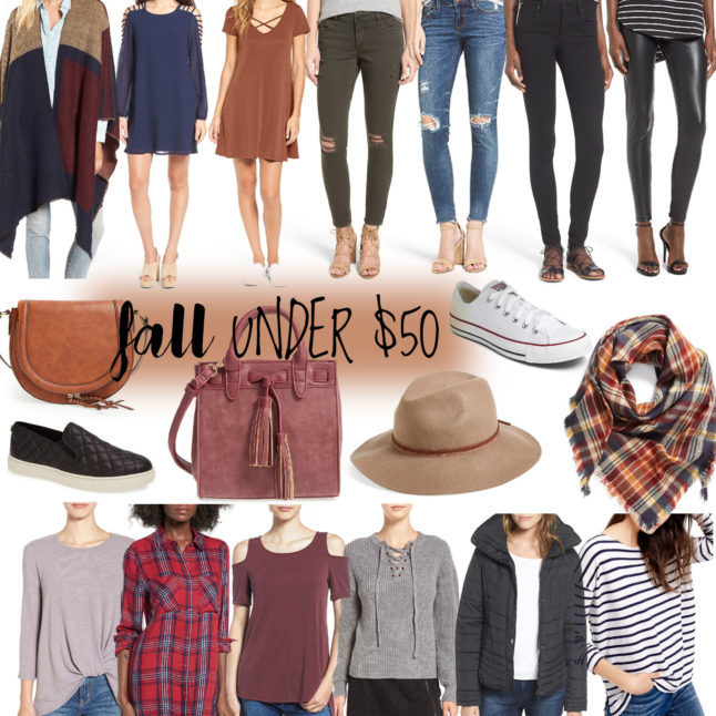 Fall Under $50