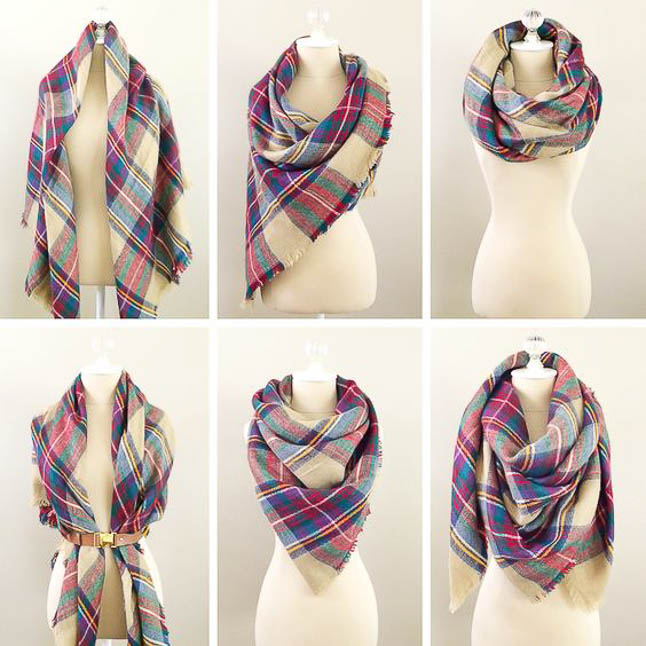 How To Style A Scarf For Fall | adoubledose.com