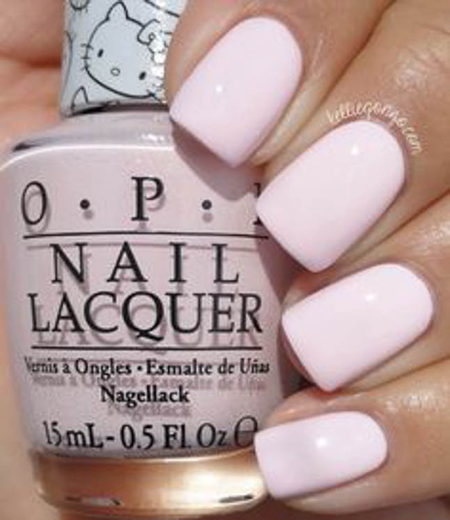 fashion and lifestyle bloggers alexis belbel and samantha belbel share their favorite fall nail colors : OPI Lets Be Friends