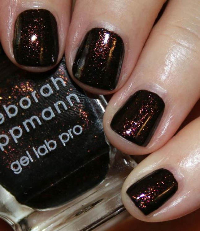 fashion and lifestyle bloggers alexis belbel and samantha belbel share their favorite fall nail colors : Deborah Lippmann All Night Long