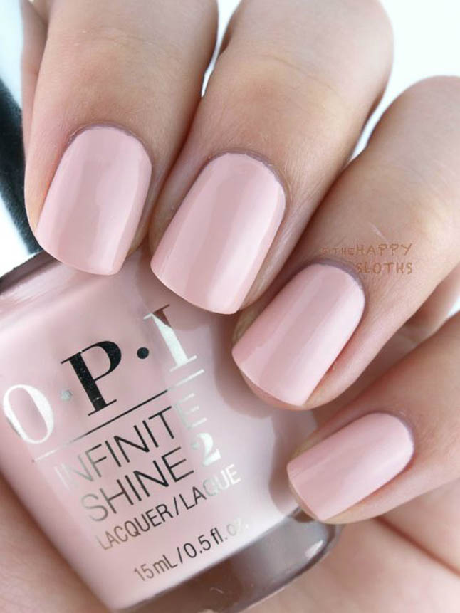 fashion and lifestyle bloggers alexis belbel and samantha belbel share their favorite fall nail colors : Opi- You're Blushing Again