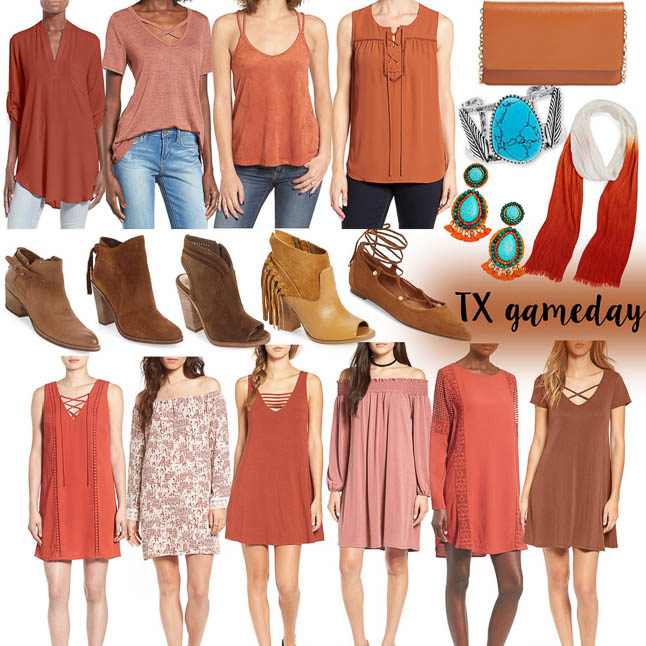TX/OU Gameday Outfit Ideas