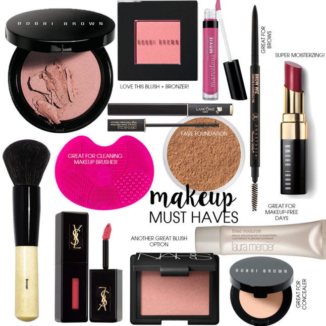 Makeup Must Haves | adoubledose.com