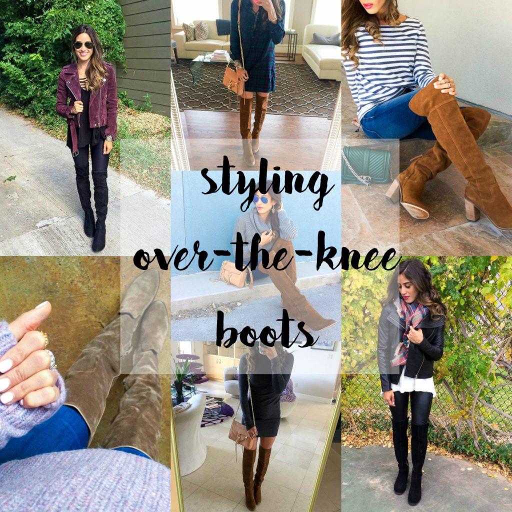 Styling OTK Boots | adoubledose.com