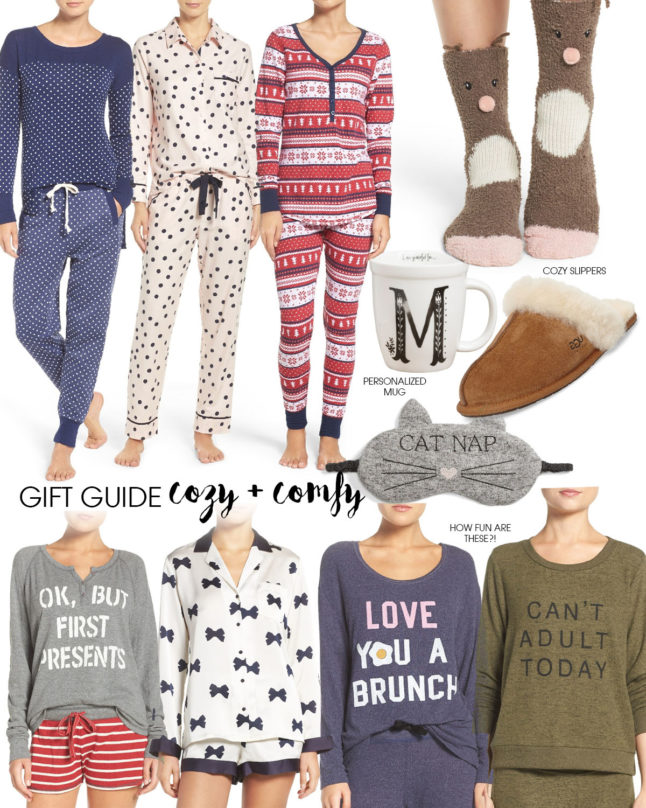 Gift Guide: Cozy + Comfy