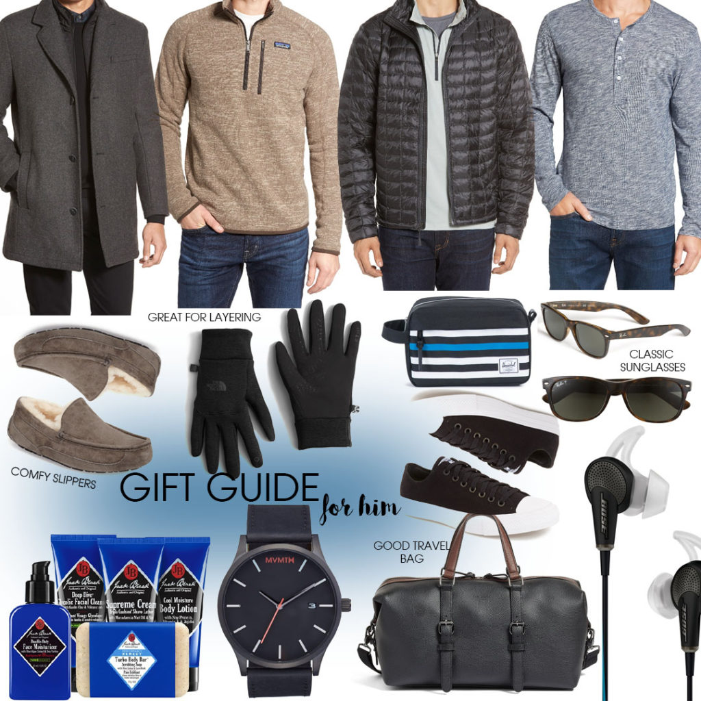 Gift Guide: For Him | adoubledose.com