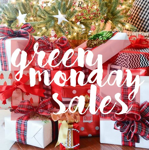 Green Monday Sales | adoubledose.com