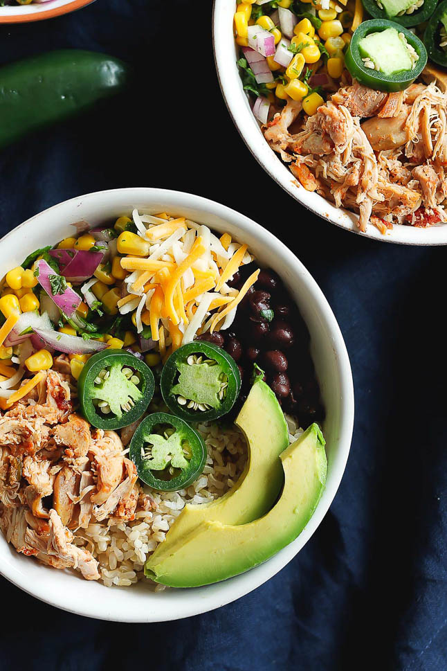 Double Dose of Fitness- Healthy Burrito Bowls | adoubledose.com