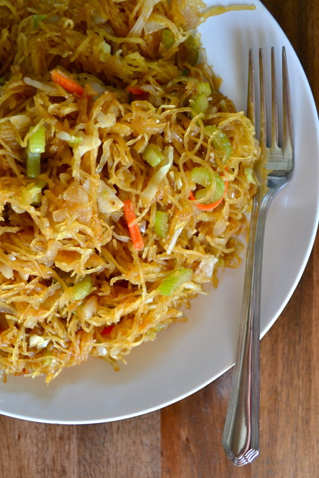 Healthy Chow Mein- Double Dose of Fitness   adoubledose.com