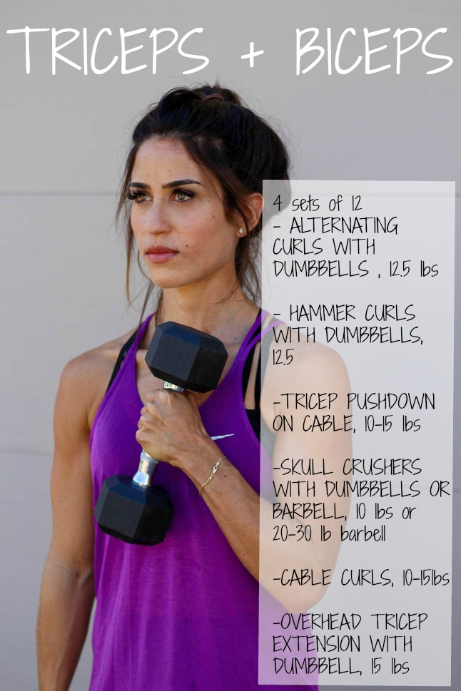 Arm Workout - Double Dose of Fitness   adoubledose.com