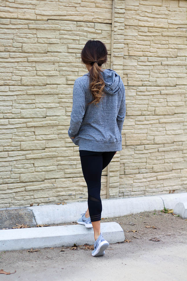 The Softest Grey Hoodie You Need | adoubledose.com