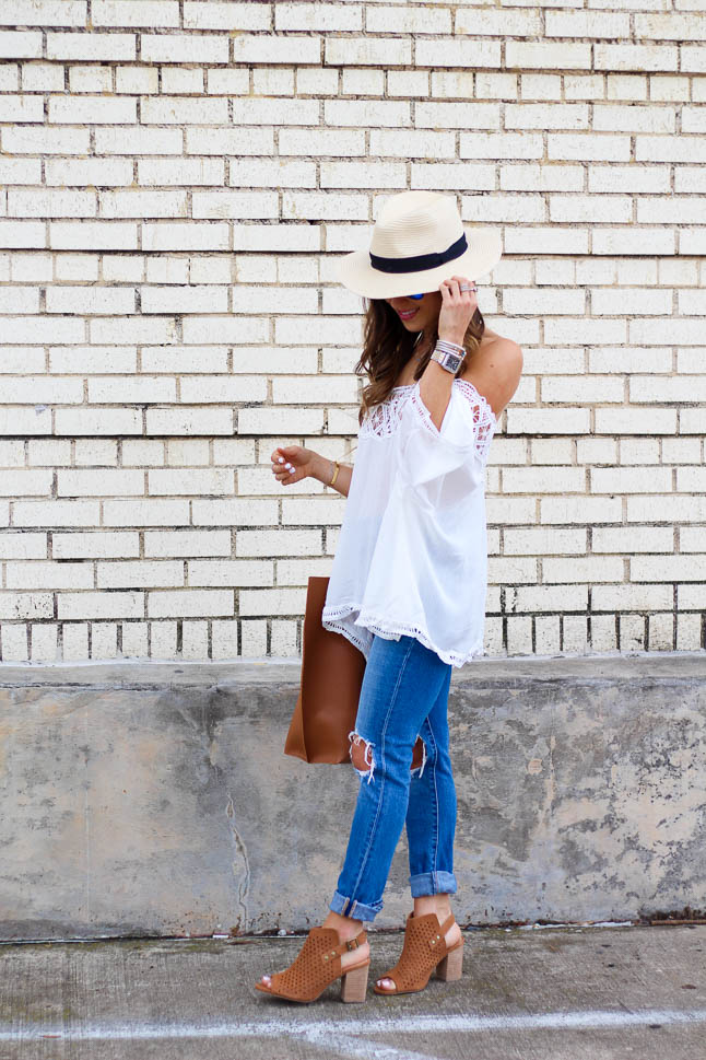 How To Style a Hat for Spring | akdoubeldose.com