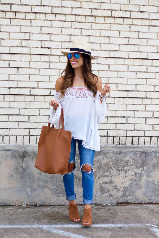 How To Style a Hat for Spring   akdoubeldose.com
