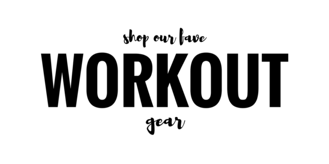 Shop Our Fave Workout Gear | adoubledose.com