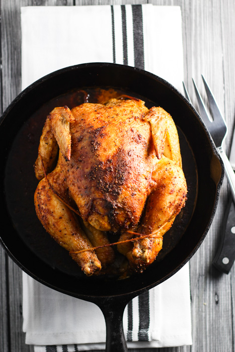 Roast Chicken - A Double Dose Of Fitness | adoubledose.com