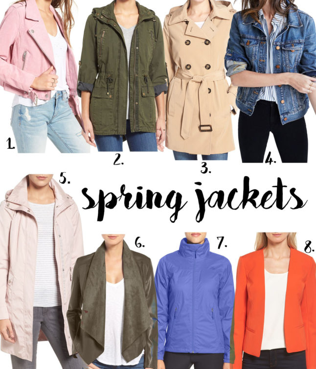 Must Have Spring Jackets | adoubledose.com