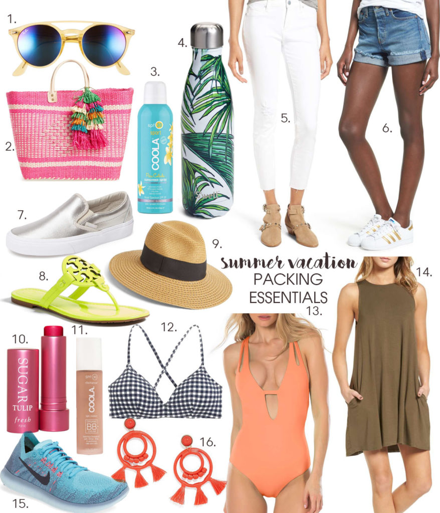 Summer Vacation Packing Essentials | adoubledose.com