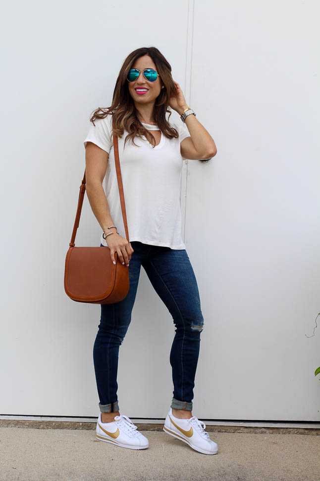 How to Style Athletic Shoes with Jeans