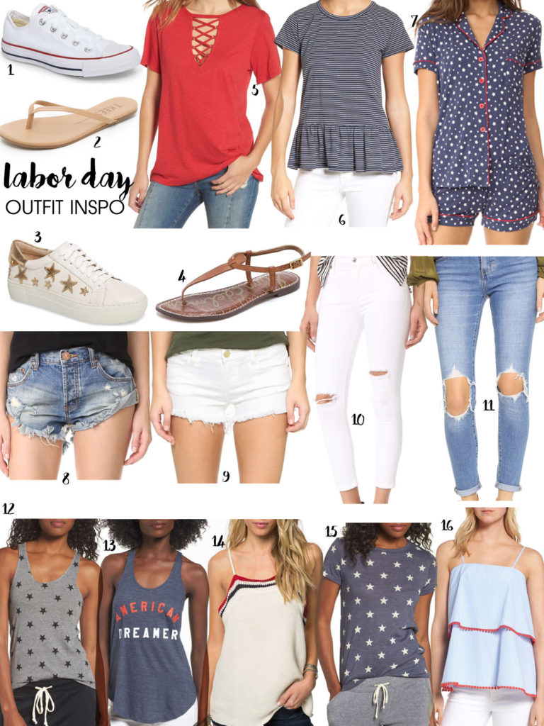 Labor Day Outfit Ideas + SALES   adoubledose.com