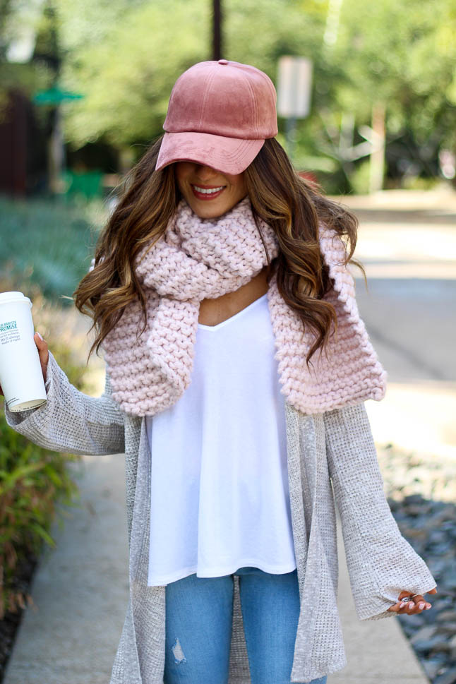 How To Style A Baseball Cap For Fall   adoubledose.com