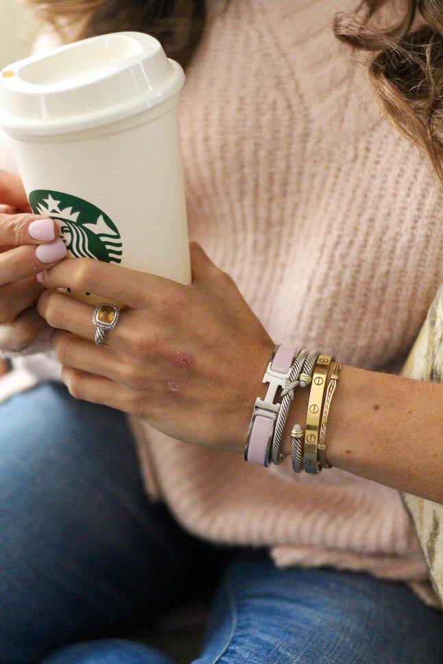 How To Stack Bracelets | adoubledose.com